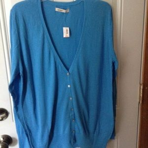NWT Old Navy button up cardigan sweater